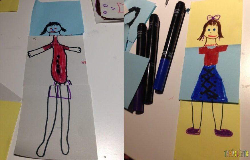 Diversão com post-it - desenhos prontos