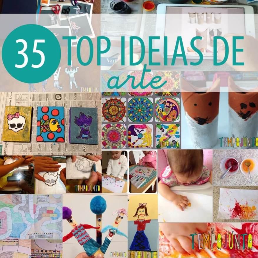 TOP35 ideias de arte