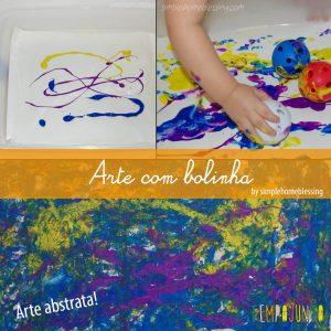 Arte com bolinhas