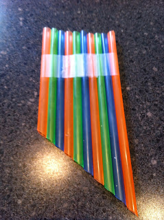 Como fazer instrumentos musicais com crianças -flauta de canudo
