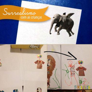 Inspire-se no Surrealismo para fazer arte para crianças