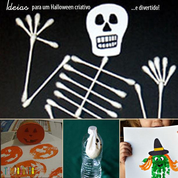 6 Ideias criativas e não-tão-assustadoras para o Halloween