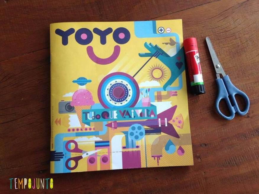 Este é o primeiro exemplar da revista Yoyo