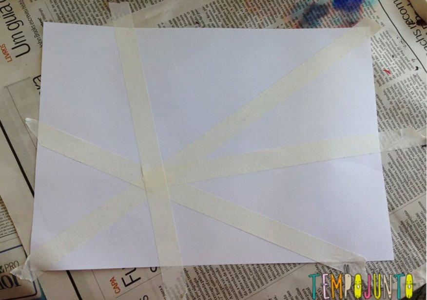 Trama de papel klee