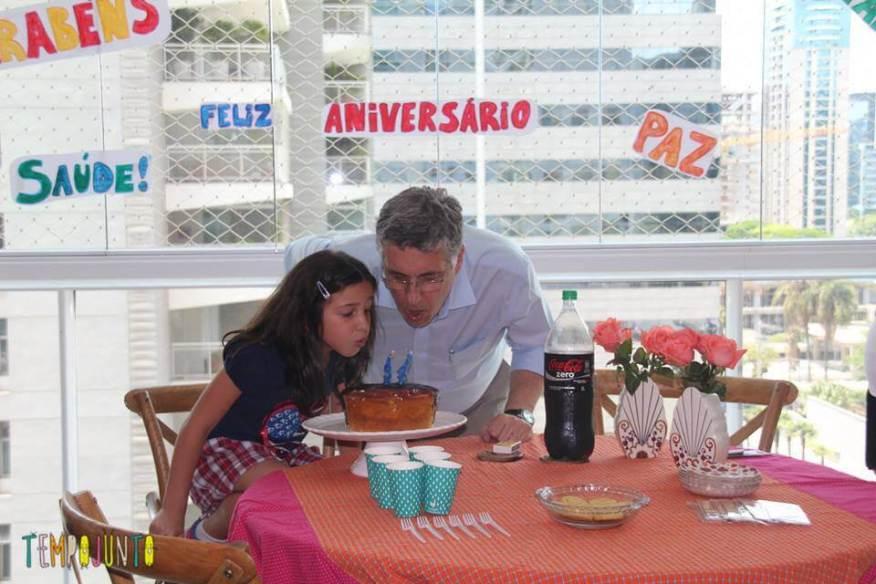 Festa de aniversario do Luiz
