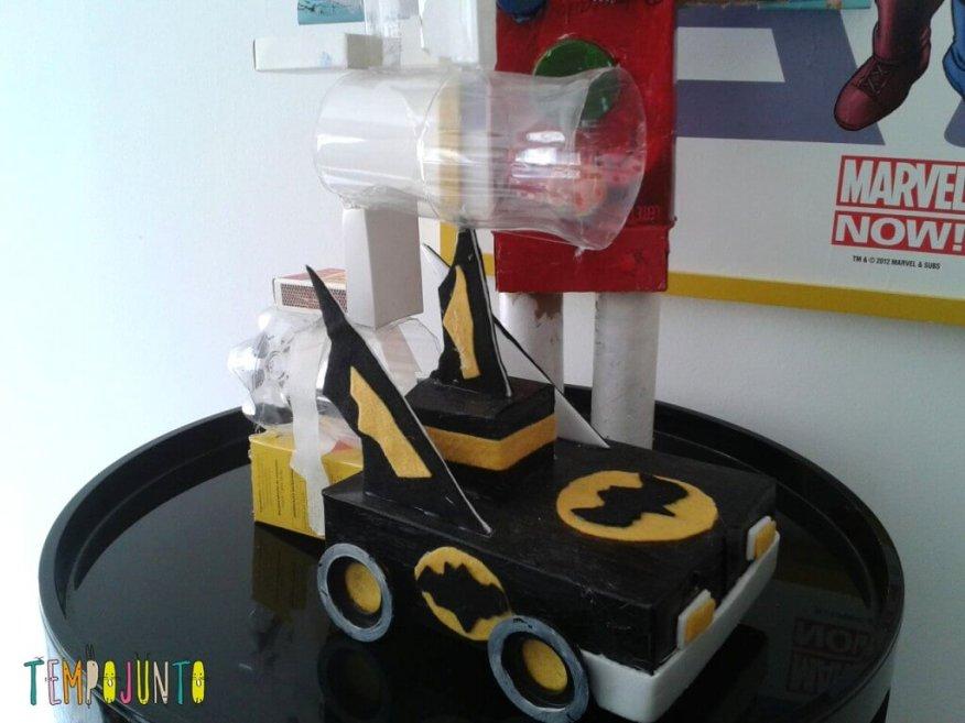 como estimular a criatividade do seu filho - carro batman