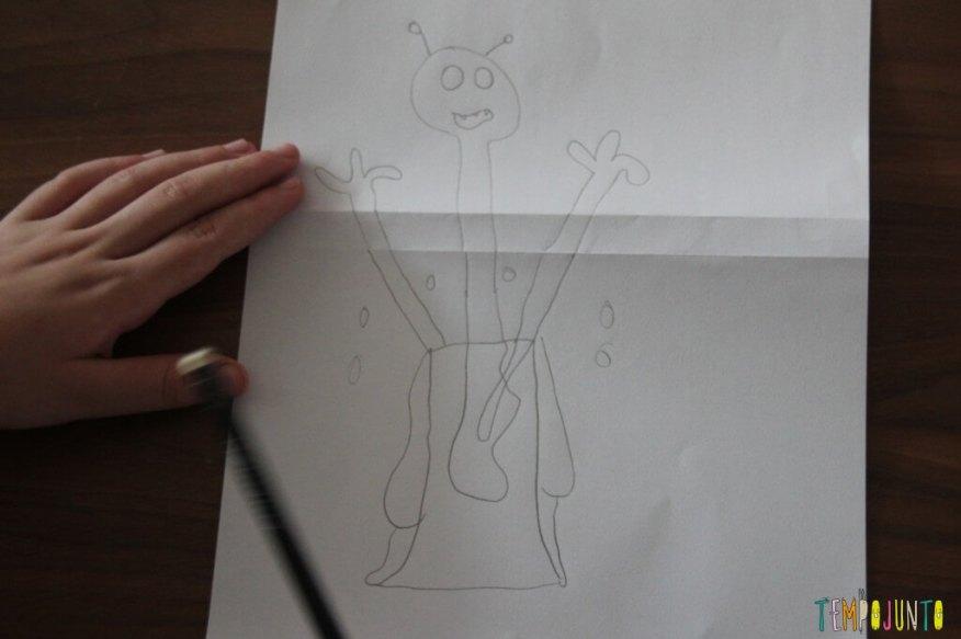 brincar de desenhar - desenho completo