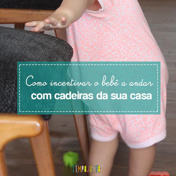 Incentive seu bebê a andar: cadeiras com brinquedos