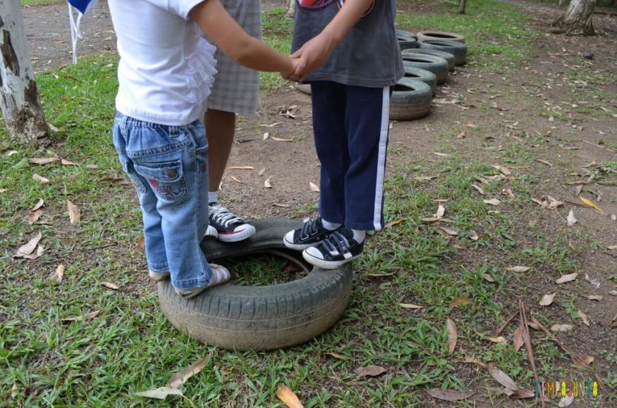 4 desafios que ajudam no desenvolvimento das crianças mais velhas - pneu