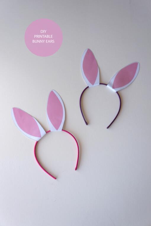 10 ideias criativas para fazer na Páscoa - tiara de coelho