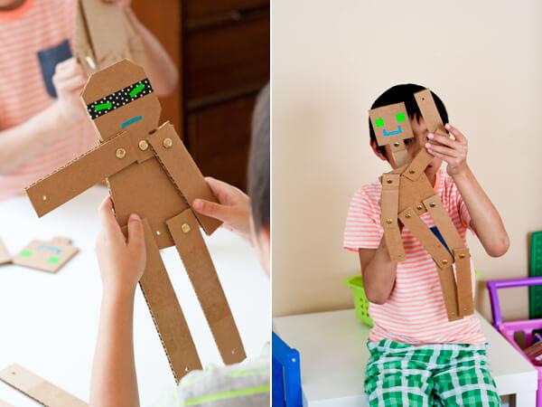 Muitas vezes 10 ideias criativas para fazer brinquedos com caixas de papelão  KI53