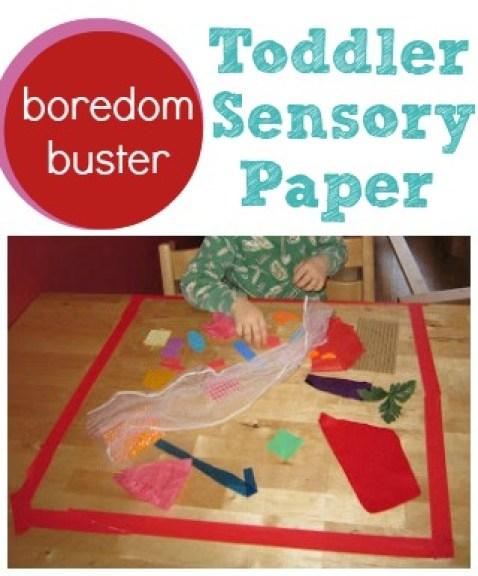 10 ideias criativas para brincar com papel contact - quadro sensorial