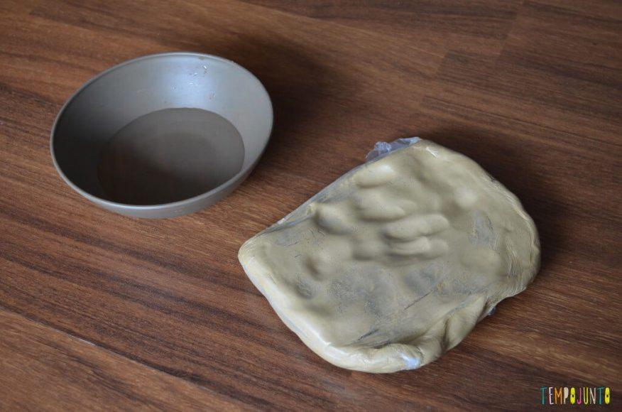arte com argila - material