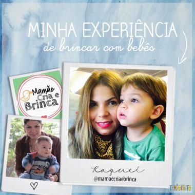 @mamaecriaebrinca e faz o melhor tempojunto para os bebês