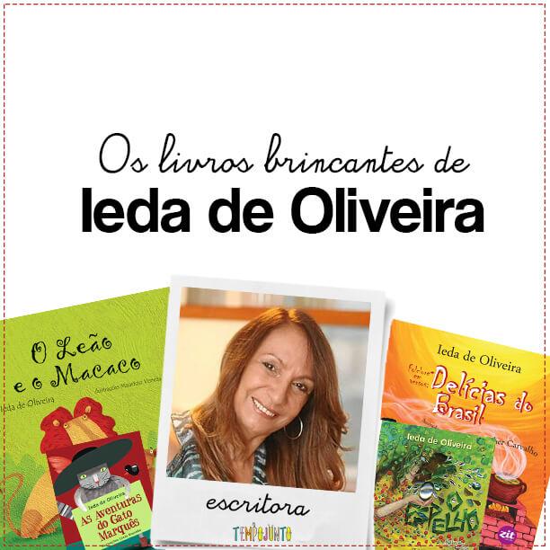 Livro brincante: as mil transformações de Ieda de Oliveira