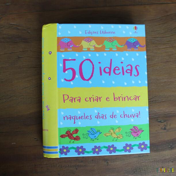 Livros de atividades para as férias - 50 ideias para criar e brincar