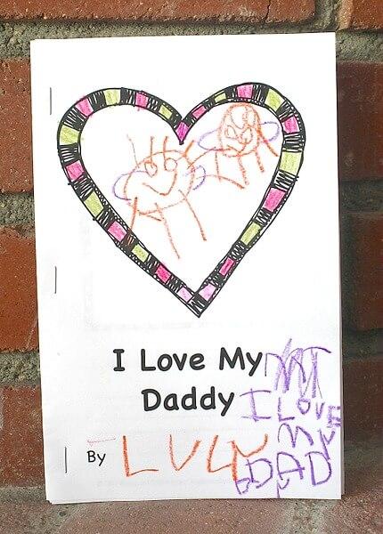15 ideias de presentes feitos pelas crianças para o dia dos pais - um livro