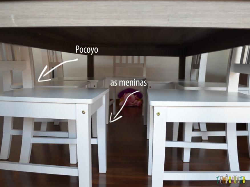 Férias em casa com gostinho de viagem - desviando das cadeiras