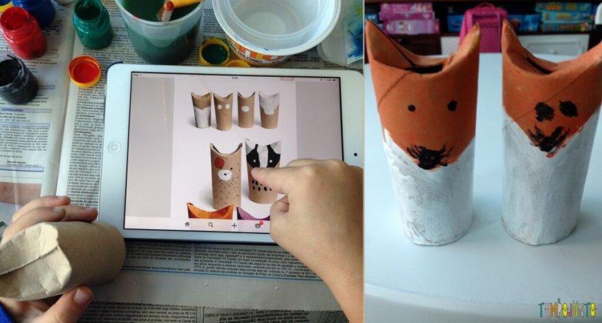 10 ideas criativas para fazer bichinhos com as crianças - raposa