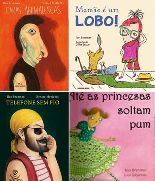 Brincar de leitura estimula o gosto pelos livros - Livros do Ilan Brenman