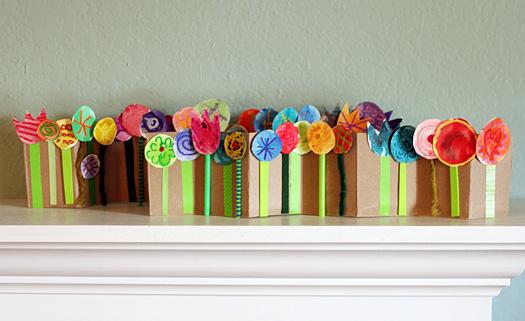 15 ideias criativas para fazer arte com flores - sanfona de flores