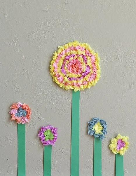15 ideias criativas para fazer arte com flores - textura de flores