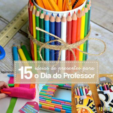 15 ideias de presentes para o Dia do Professor
