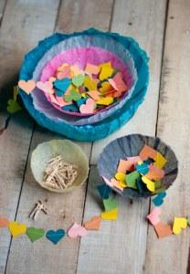 Mais 10 ideias de presentes para os professores que ainda dá tempo de fazer - cesto de papel de seda
