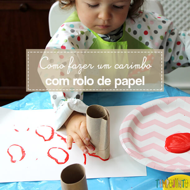 Atividade de artes para crianças pequenas