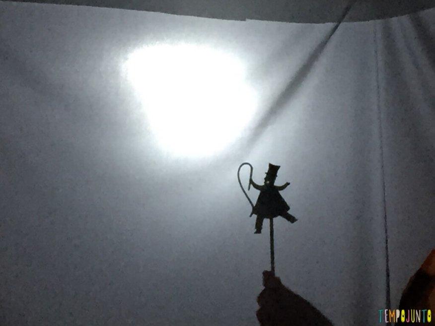 Como fazer um teatro de sombras em casa - personagens