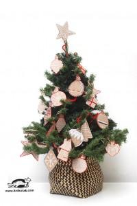 10 ideias de artesanato de natal para fazer com as crianças - enfeites de papelão