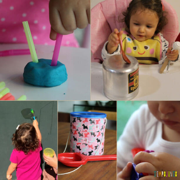 As 10 melhores brincadeiras para crianças de 1 ano - bebes de 18 a 24 meses