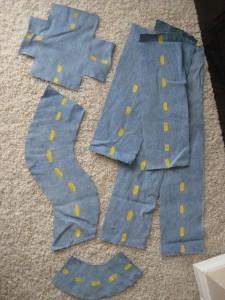 10 ideias de como brincar com retalhos de tecidos - estrada portátil