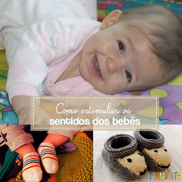 Brincadeiras para estimular os sentidos dos recém-nascidos