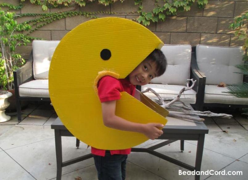 10 fantasias de última hora para as crianças - pacman
