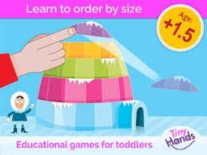 5 apps para estimular o raciocínio lógico das crianças - tiny hands torres app