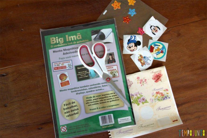 5 ideias de artesanatos para crianças mais velhas - ima de geladeira materiais