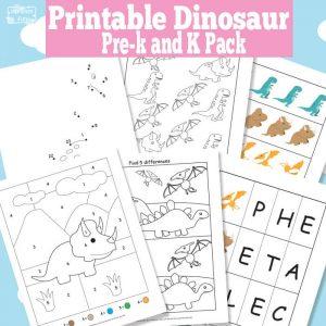 10 ideias de brincadeiras com dinossauros - printable infantil