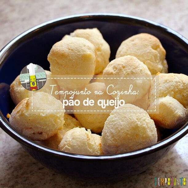 Receita de pão de queijo para fazer com as crianças