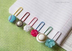 10 ideias de presentes para fazer em casa para as mães - marcador de clips