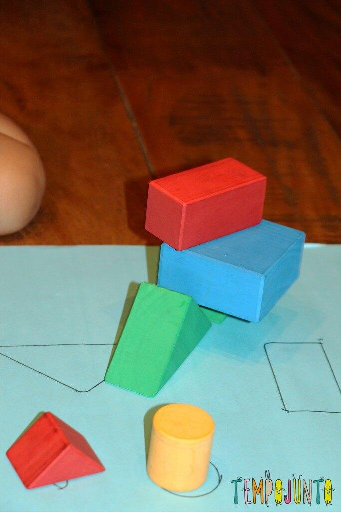 Como fazer um jogo de encaixe para as crianças - escultura