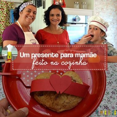 Presente da mamãe feito pela Chapeuzinho Vermelho – Tempojunto na Cozinha