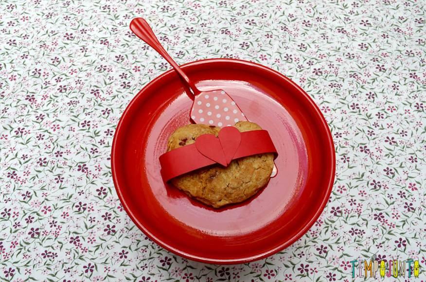 Presente da mamãe feito pela Chapeuzinho Vermelho - Tempojunto na Cozinha - scone pronto