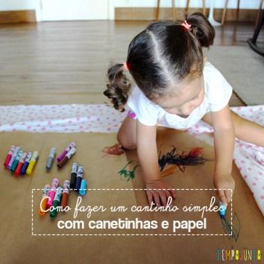 Mais um convite para estimular a criatividade dos pequenos