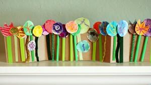 17 ideias criativas para o Dia das Mães - jardim de Flores