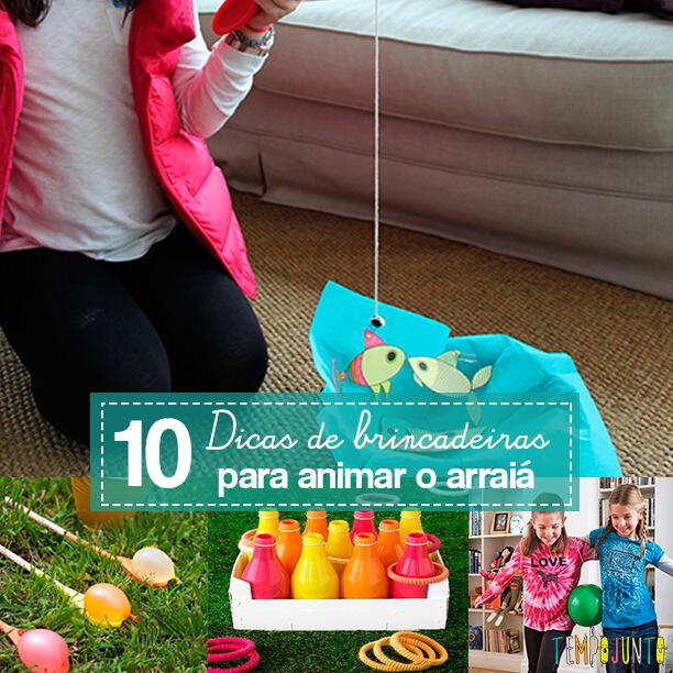 10 brincadeiras de festa junina para animar o arraiá