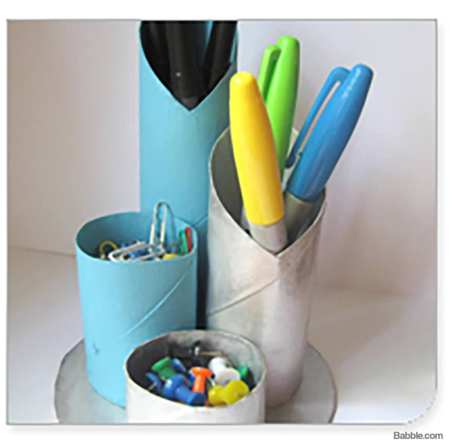 10 presentes feitos em casa para o dia dos pais - organizador de mesa