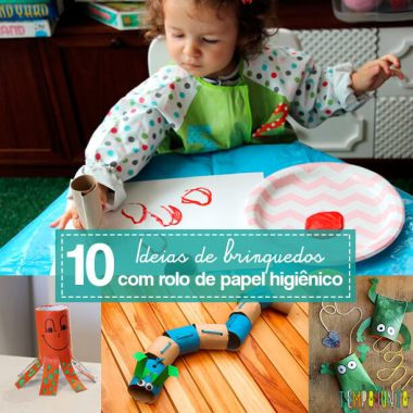 Mais 10 ideias de brinquedos com rolo de papel higiênico