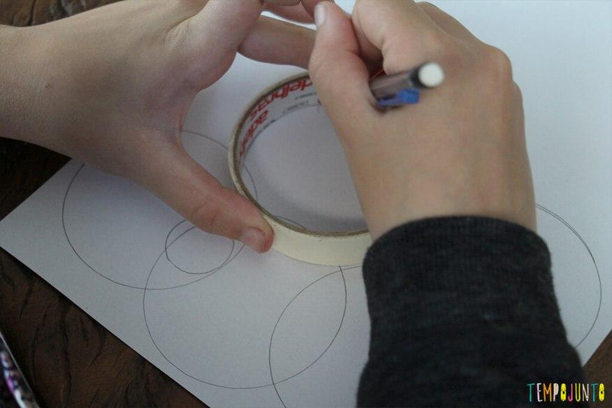 Zentangle - carol desenhando