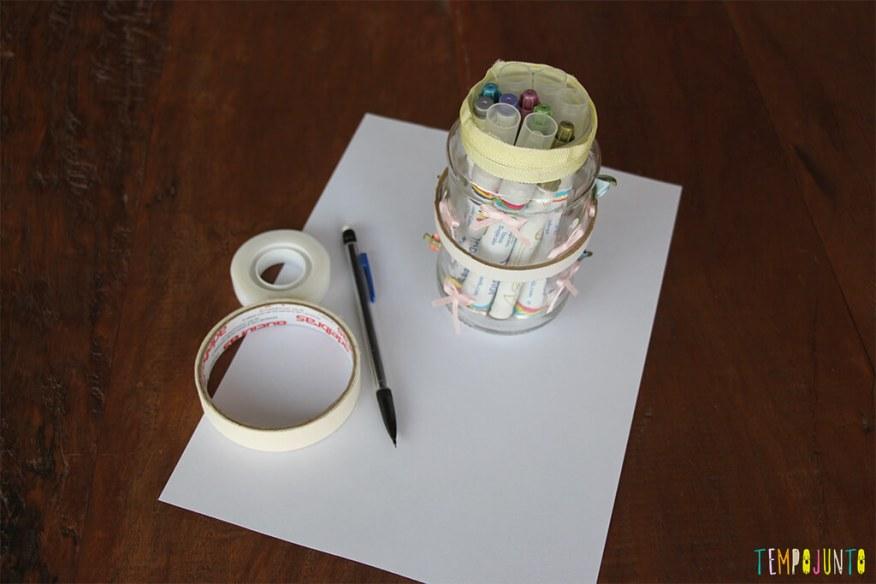 Zentangle - materiais